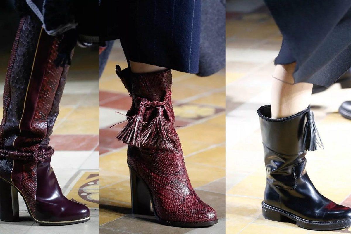 Moda scarpe inverno 2018 donna