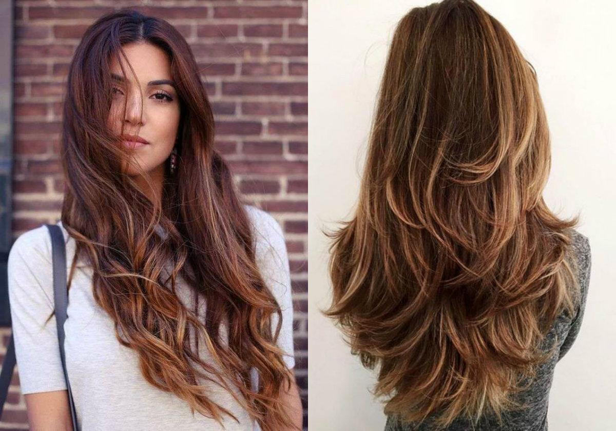 Tagli capelli lunghi fashion